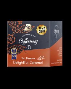 Coffeeway Κάψουλες Espresso Caramel 10+2 τεμ. (κιβ.12x12τεμ)