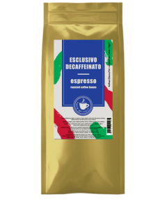 Καφές Espresso σε κόκκο, Esclusivo Decaffeinato  (κιβ.5x1kg)