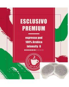 Καφές Espresso σε Pod, Esclusivo Premium 100% Arabica (κιβ. 200x7gr)