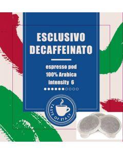Καφές Espresso σε Pod, Esclusivo Decaffeinato (κιβ. 200x7gr)