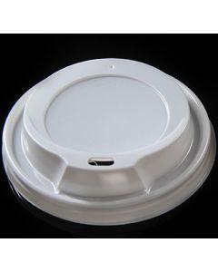 Πλαστικό καπάκι για χάρτινο ποτήρι 8oz (κιβ 2.800τμχ)