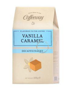 Coffeeway Αρωματικός Φίλτρου Vanilla - Caramel Decaf 200g  (κιβ.12x200gr)